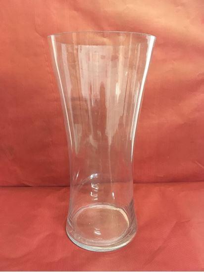 """תמונה של אגרטל זכוכית 17X34 ס""""מ."""