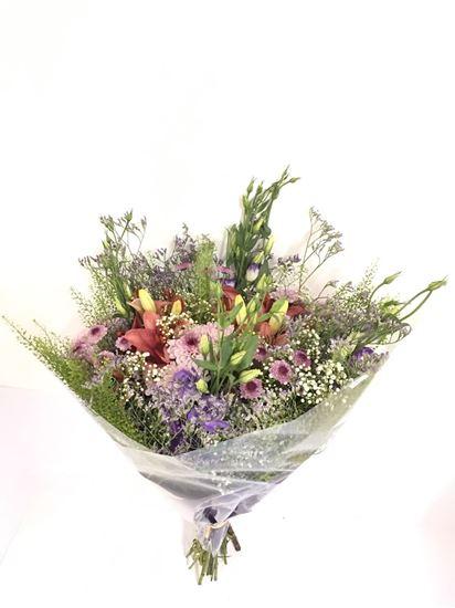 """תמונה של זר פרחים 90 ש""""ח"""