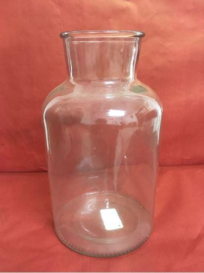 """תמונה של אגרטל זכוכית 11X29 ס""""מ."""
